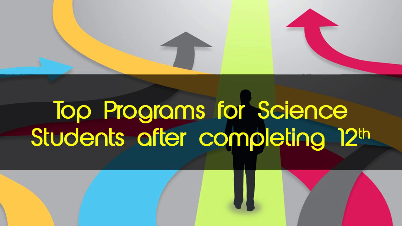 Science students ke liye what are some of the best options after school? Watch here!!