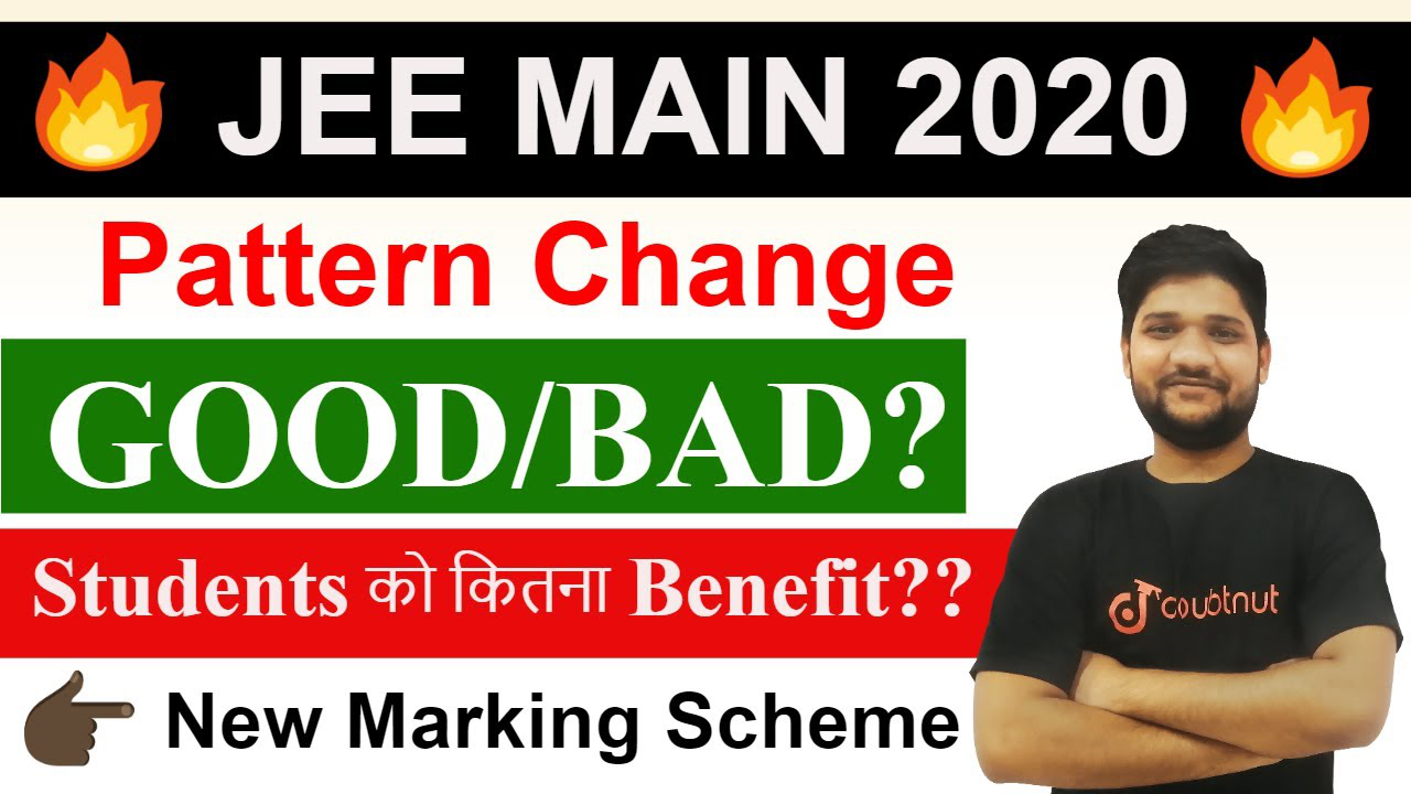 JEE Main 2020 | Big Changes by NTA | Latest News | Pattern change