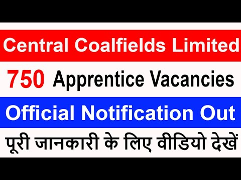 Central Coalfield Limited Recruitment 2019 | Latest Update | Total Posts | Eligibility