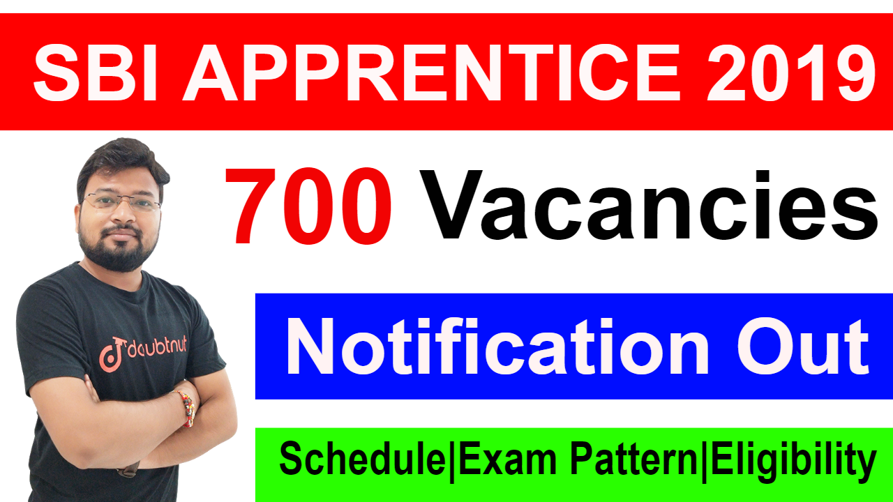 SBI Apprentice Recruitment 2019 | Important Dates | Exam Pattern | Vacancy Details | Eligibility