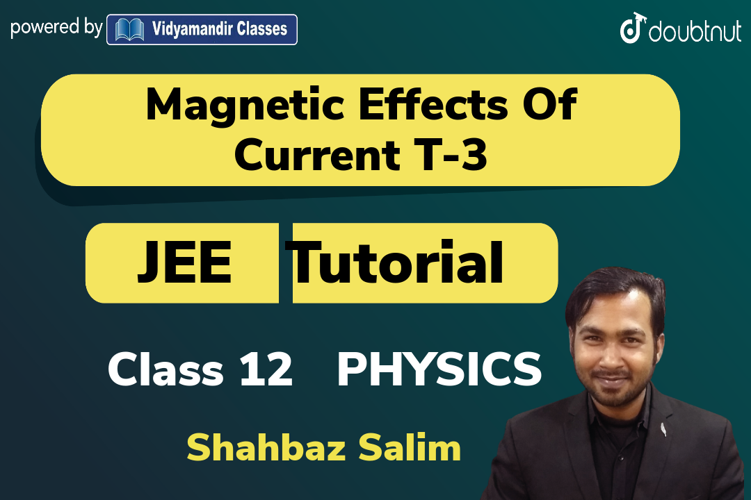Question based on Magnetic field of a solenoid | Magnetic field lines | Magnetic flux and