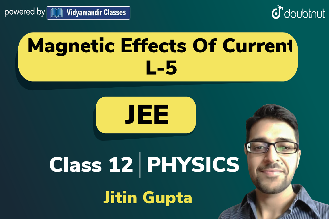 Force on charge due to Magnetic field | Circular motion of charge in uniform magnetic fiel
