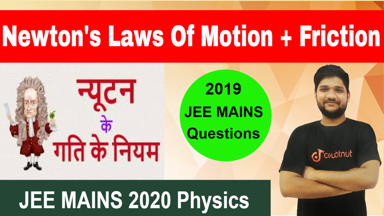 Newton Laws Of Motion(NLM) | Friction | Most Important Questions| JEE MAINS 2020/NEET 2020 Physics