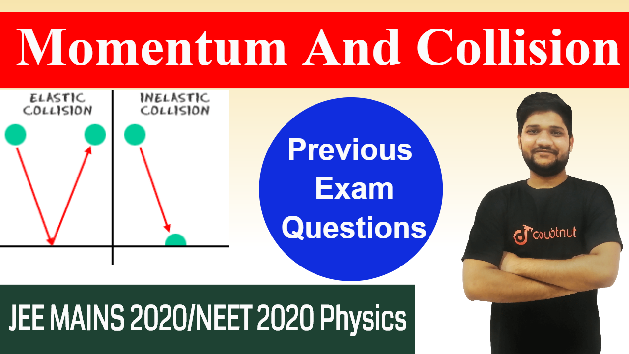Momentum And Collisions | JEE MAINS 2020 | Most Important Questions from Previous Exams | Physics