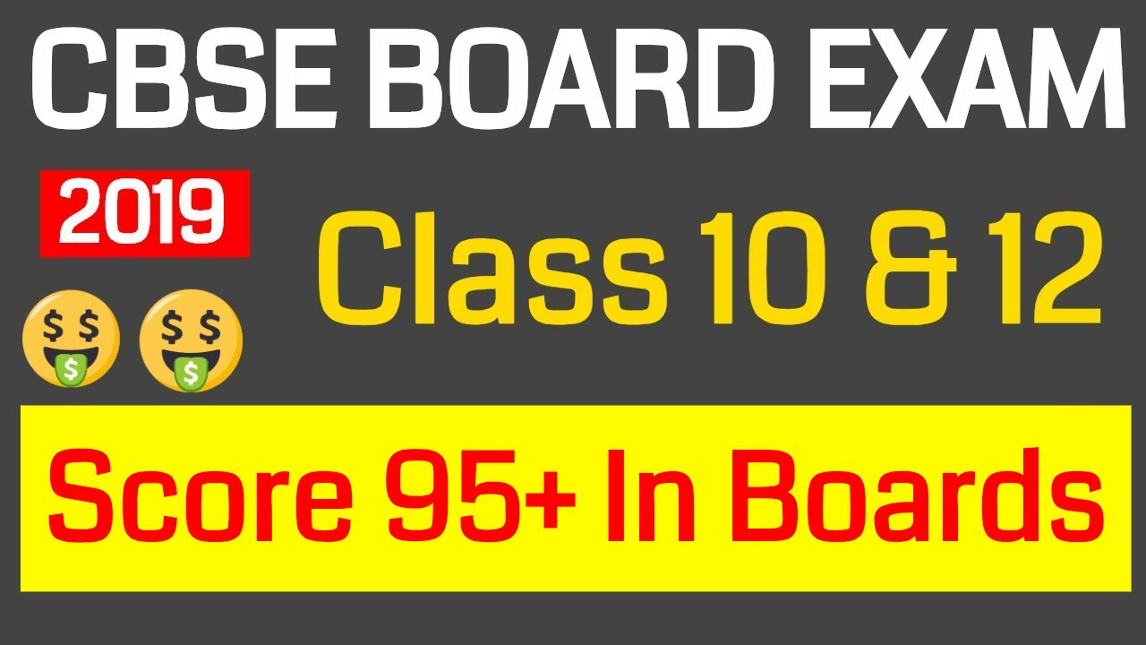 CBSE Board 2019 || How To Score 95+ Marks In Preboard Maths Exam ? || Class 10 & 12 Boards