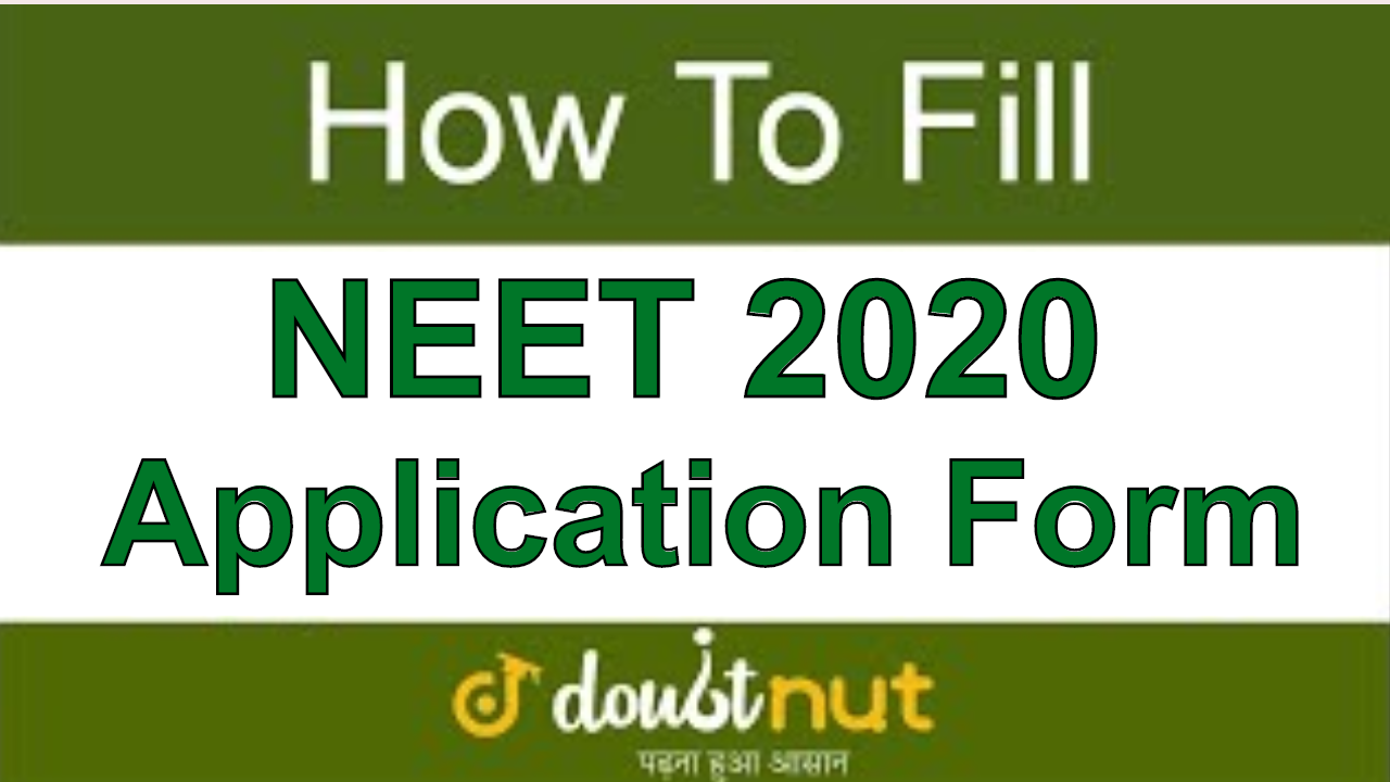 How to fill NEET 2020 Application Form Online | NEET 2020 Online Registration | Step by Step Guide