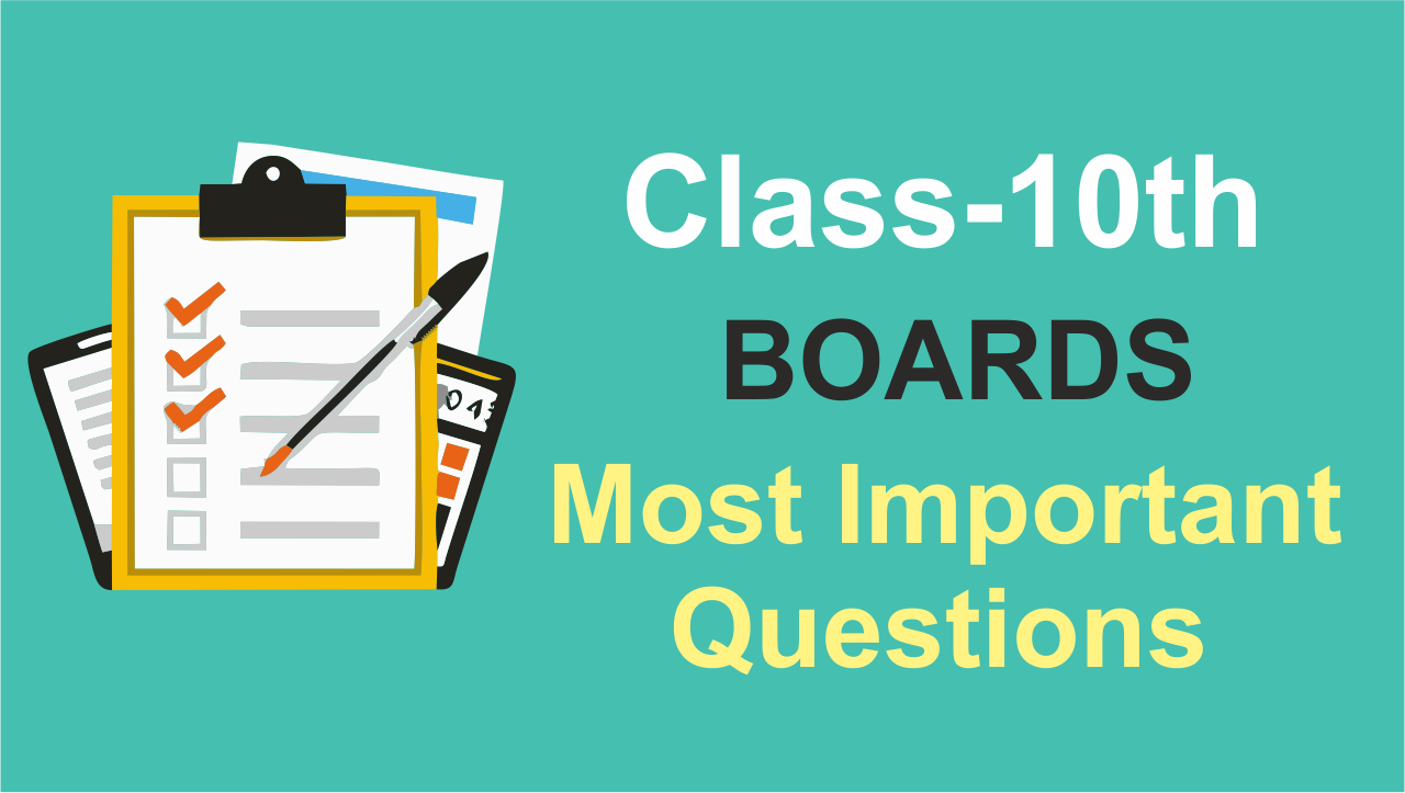 Most Important Questions Of Class 10 Boards Maths | CBSE & State Boards