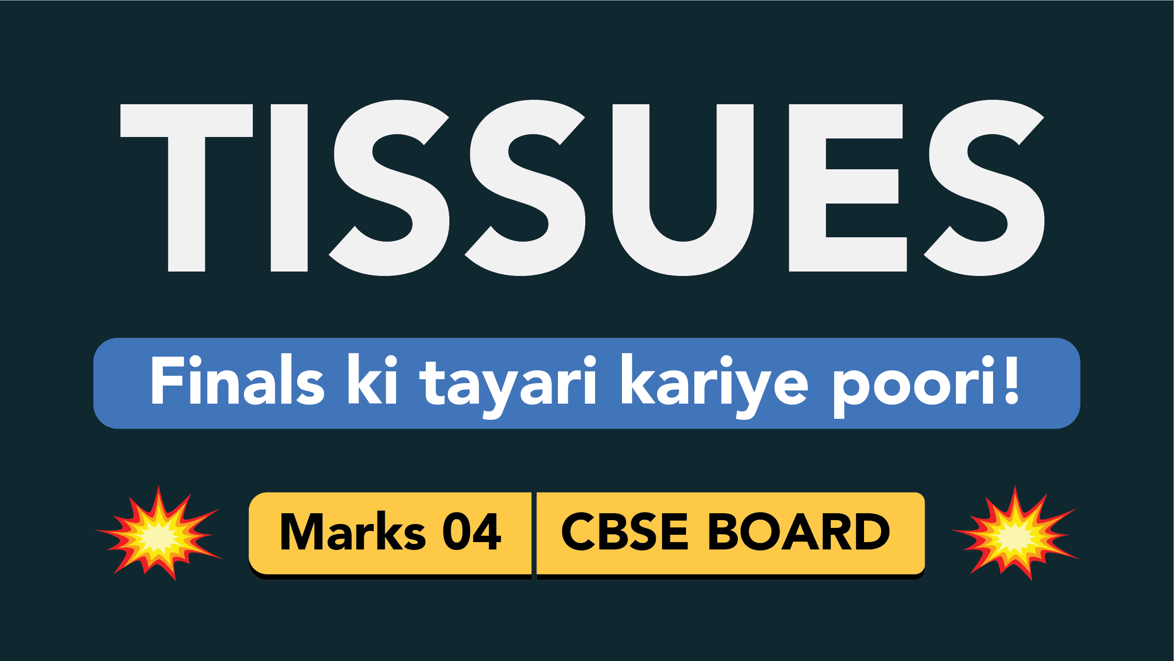 CBSE Board Class 9 TISSUES || Weightage and Important Topics