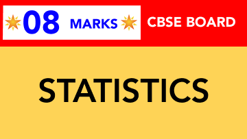 CBSE Board Class 11 STATISTICS || Weightage and Important Topics