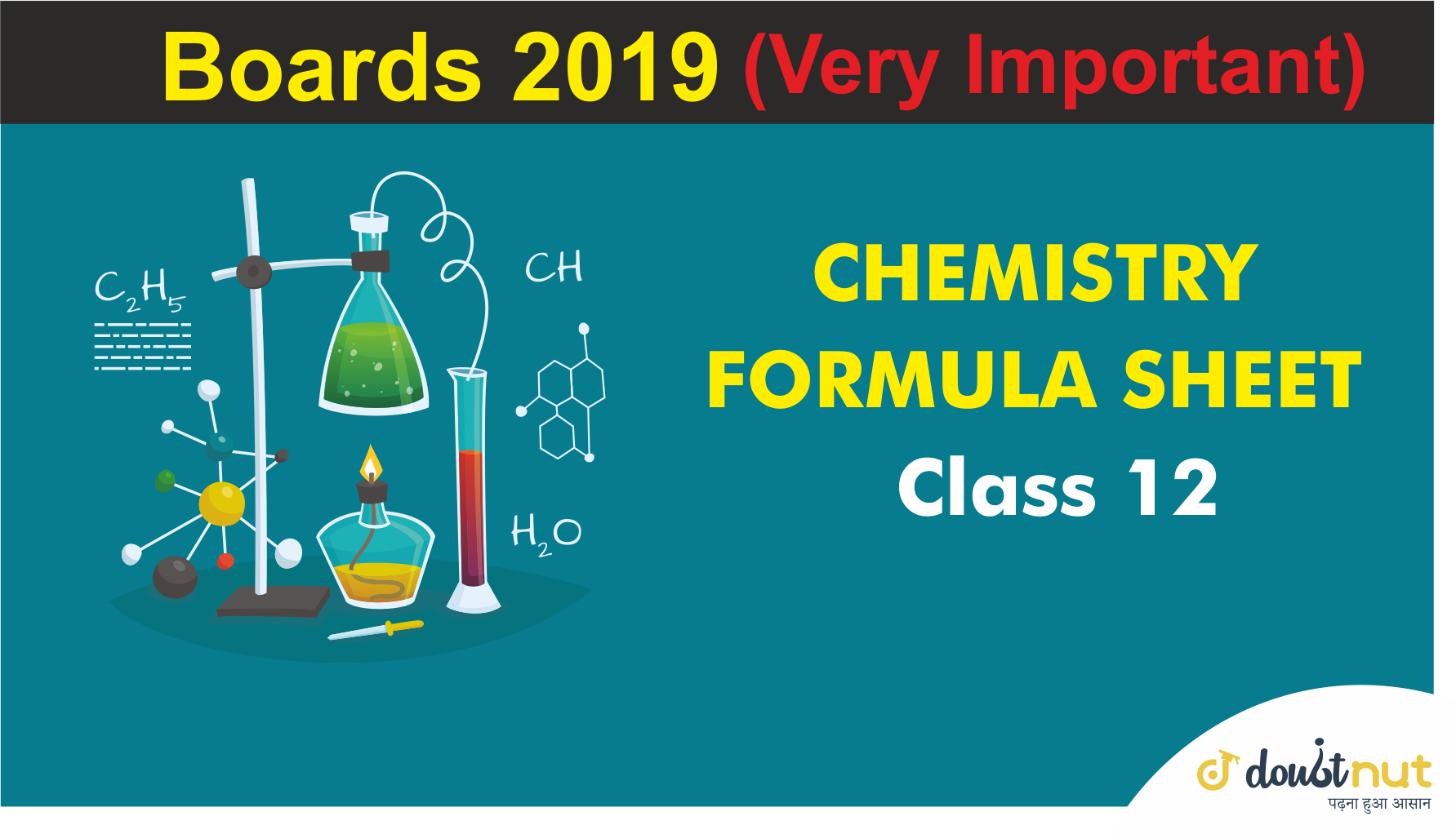 Class 12 Chemistry Revision | Important Reaction and Results For Boards Exam