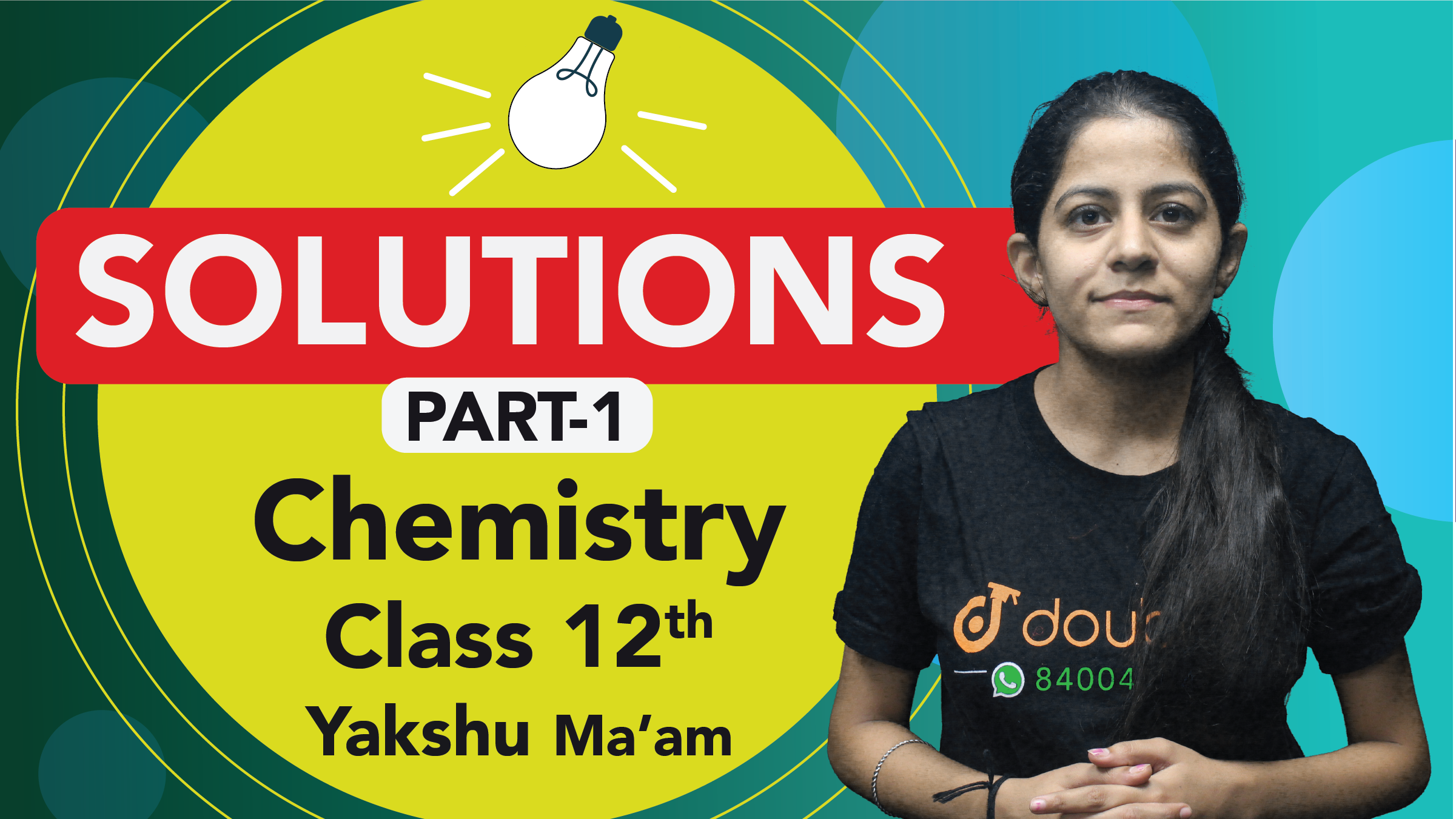Class 12 Chemistry Chapter 1 Solutions Important Questions | CBSE Board  Quick Revision | Part 1