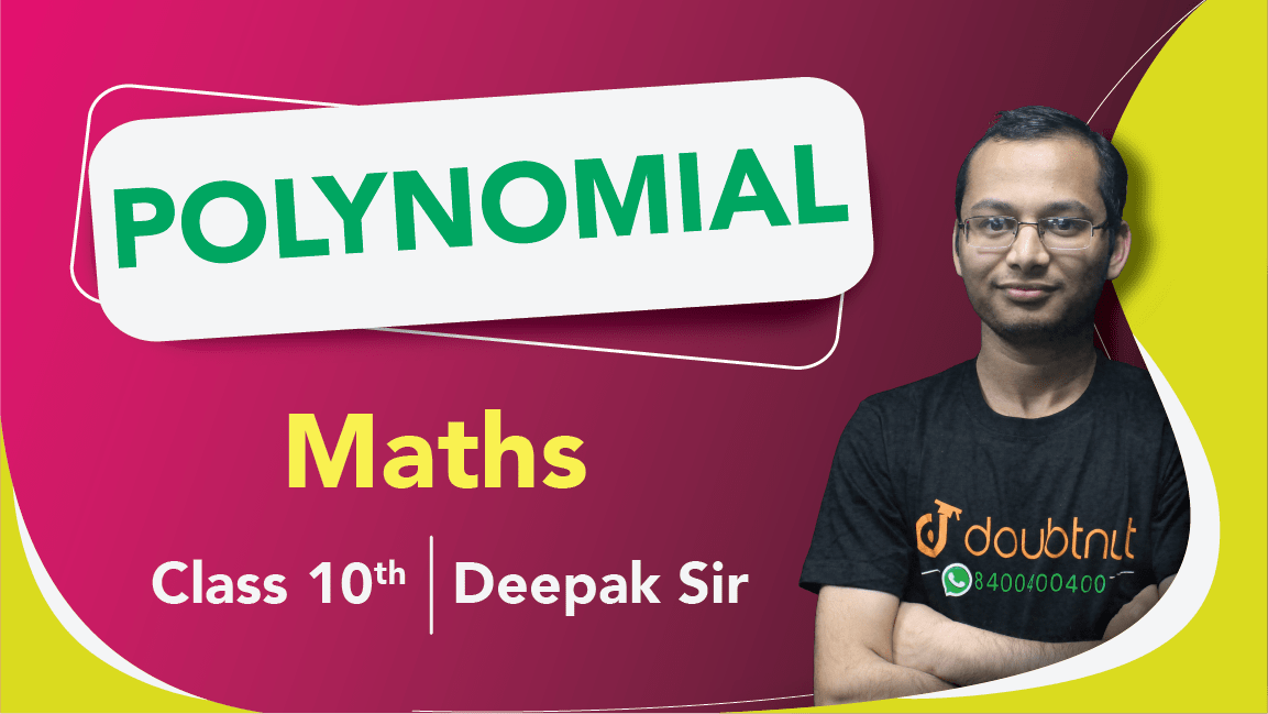 Class 10 Maths | Chapter 2 Polynomials  | Important Questions |  Quick Revision