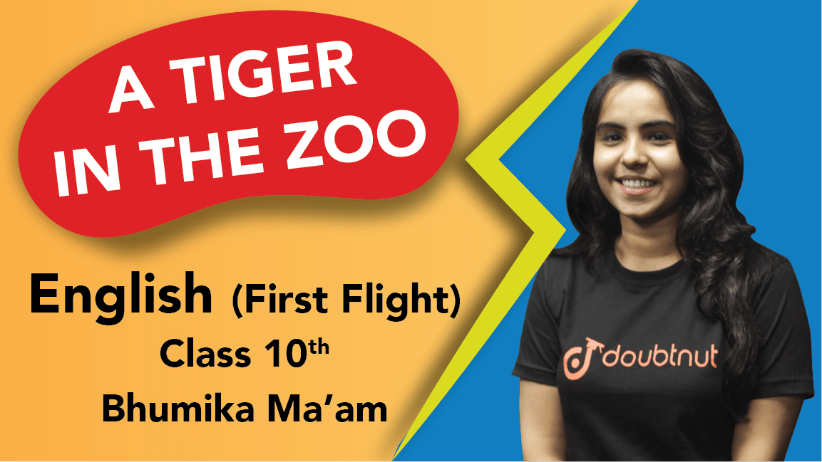 Class 10 English | First Flight - Poem  A Tiger in the Zoo | Important Questions | CBSE Boards Revision