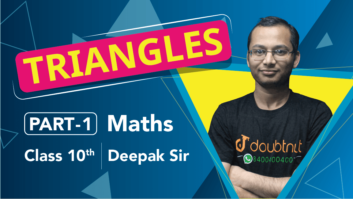 Class 10 Maths | Chapter 6 | Triangles | Important Questions | Quick Revision| Part 1