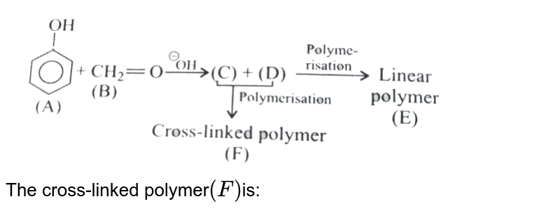 """<img src=""""https://d10lpgp6xz60nq.cloudfront.net/physics_images/KSV_CHM_ORG_P2_C16_E01_038_Q01.png"""" width=""""80%""""> <br> The cross-linked polymer`(F)`is:"""
