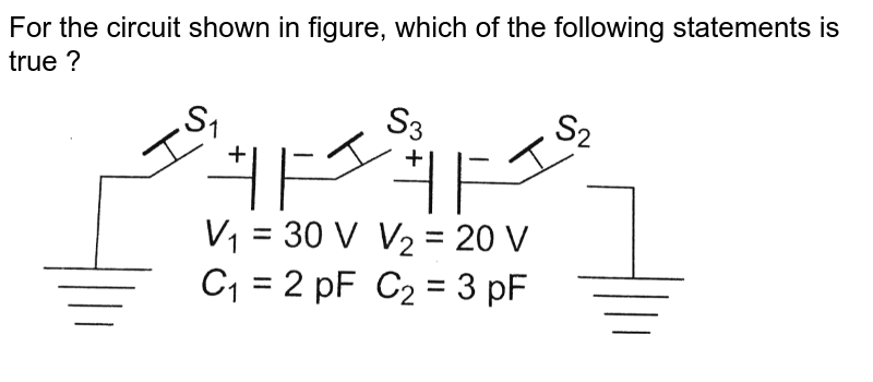 """For the circuit shown in figure, which of the following statements is true ? <br> <img src=""""https://d10lpgp6xz60nq.cloudfront.net/physics_images/BMS_OBJ_XII_C02_E01_245_Q01.png"""" width=""""80%"""">"""