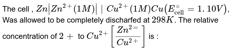 """The cell , `Zn 