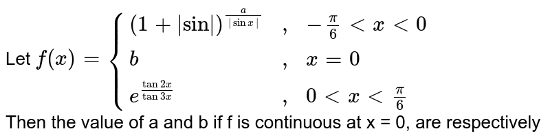 """Let `f(x) = {((1+