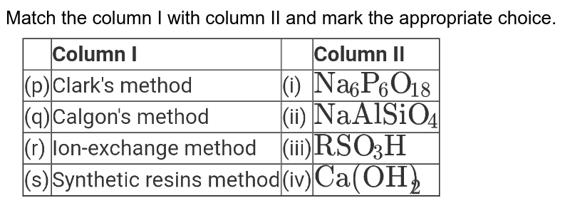 """Match the column I with column II and mark the appropriate choice. <br> <img src=""""https://d10lpgp6xz60nq.cloudfront.net/physics_images/NTA_JEE_MOK_TST_66_E02_004_Q01.png"""" width=""""80%"""">"""