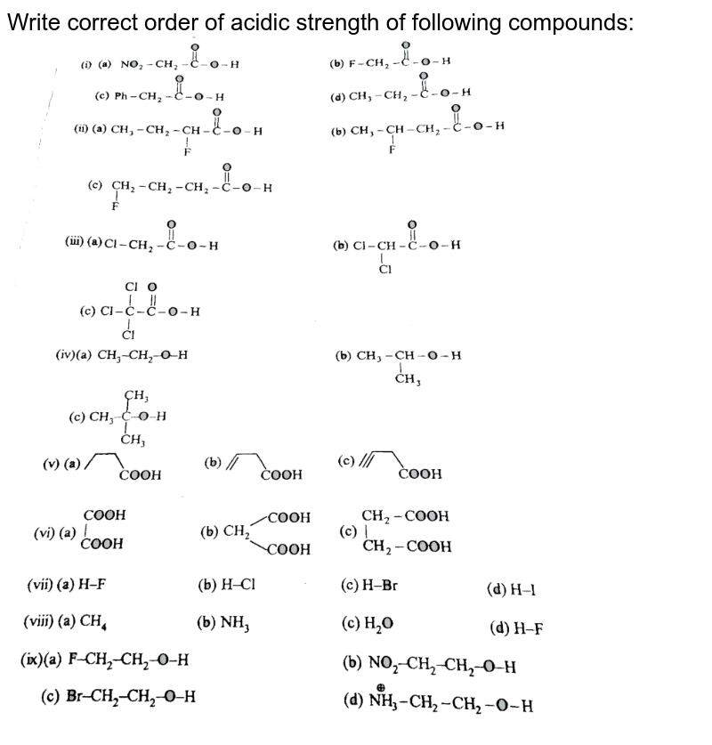 """Write correct order of acidic strength of following compounds: <br> <img src=""""https://d10lpgp6xz60nq.cloudfront.net/physics_images/ALN_CHM_ASBS_E01_001_Q01.png"""" width=""""80%"""">"""