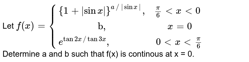 """Let ` f(x) = {{:({1+