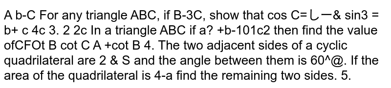 In a triangle ABC if `a^2+b^2=101c^2` then find the value of `cotC/(cotA+cotB)`