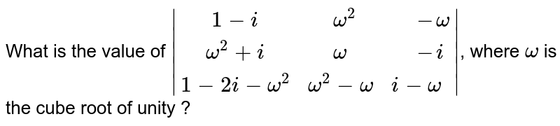 """What is the value of `