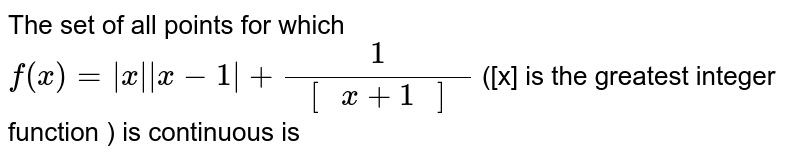 """The set of all points for which `f(x)=