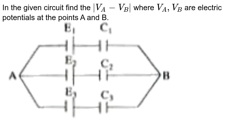 """In the given circuit find the `