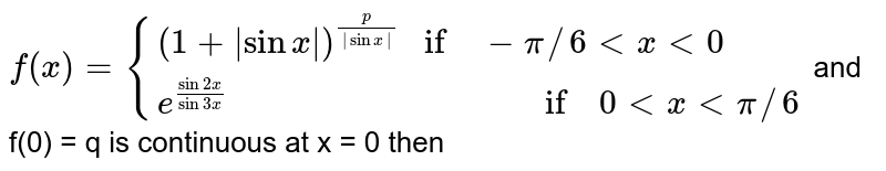 """` f(x) = {{:((1 + 