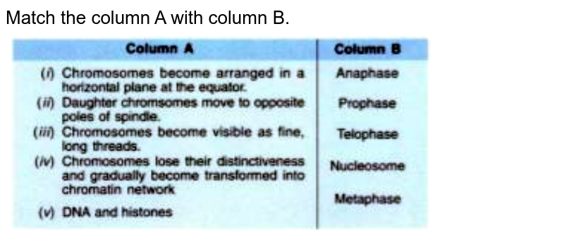 """Match the column A with column B. <br> <img src=""""https://doubtnut-static.s.llnwi.net/static/physics_images/EVR_ANM_ICSE_BIO_X_C01_E01_065_Q01.png"""" width=""""80%"""">"""