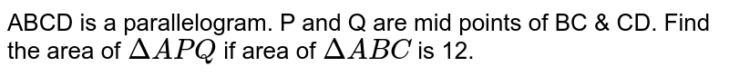 ABCD is a parallelogram, P and Q are the points on the diagonal AC=QC, the quadrilateral BPDQ is a :