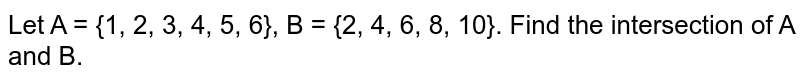 Let A = {1, 2, 3, 4, 5, 6}, B = {2, 4, 6, 8, 10}. Find the intersection of A and B.