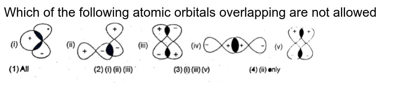 """Which of the following atomic orbitals overlapping are not allowed  <br> <img src=""""https://d10lpgp6xz60nq.cloudfront.net/physics_images/RES_CHM_RK_JM_C02_E01_071_Q01.png"""" width=""""80%"""">"""