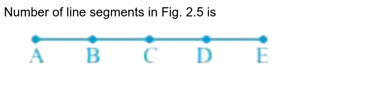 """Number of line segments in Fig. 2.5 is <br> <img src=""""https://doubtnut-static.s.llnwi.net/static/physics_images/NCERT_EXM_MAT_VI_C02_E01_003_Q01.png"""" width=""""80%"""">"""