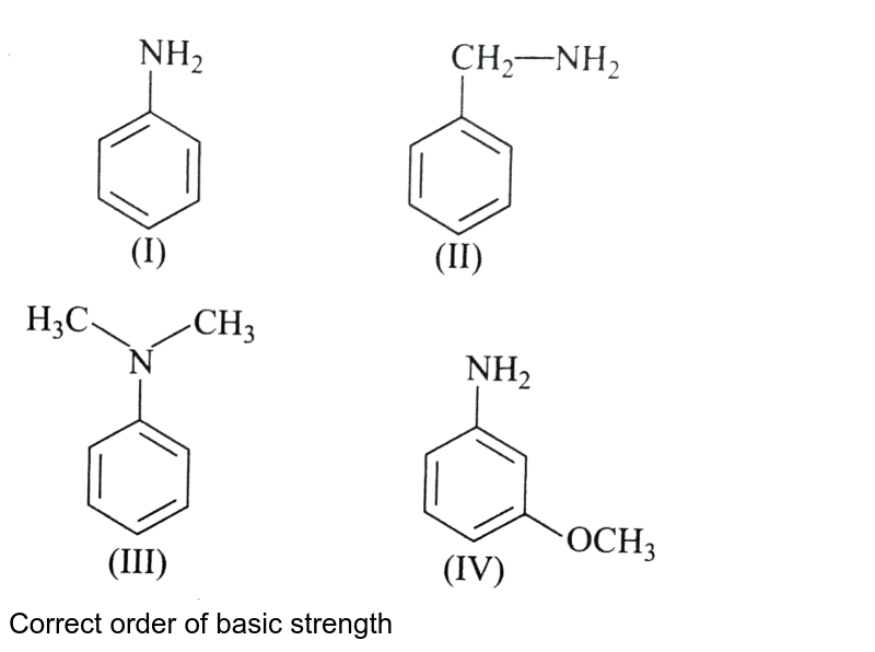 """<img src=""""https://d10lpgp6xz60nq.cloudfront.net/physics_images/A2Z_CHM_XII_C13_E01_259_Q01.png"""" width=""""80%""""> <br> Correct order of basic strength"""