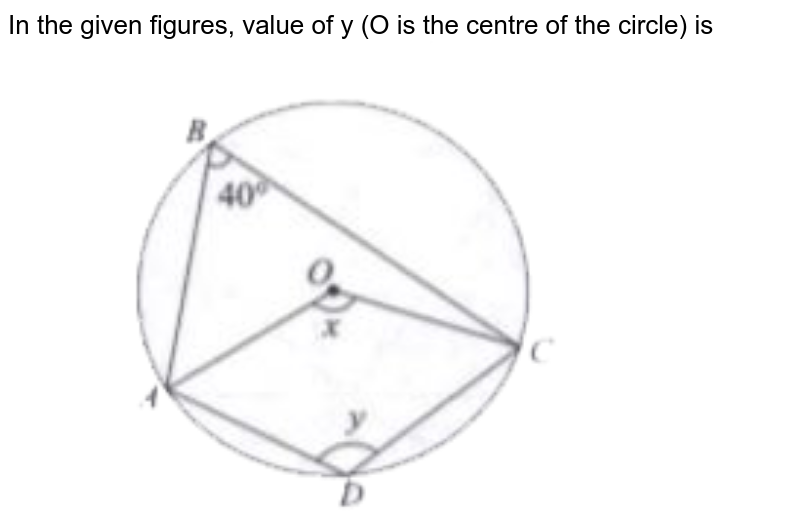"""In the given figures, value of y (O is the centre of the circle) is <br> <img src=""""https://doubtnut-static.s.llnwi.net/static/physics_images/CEN_JEE_MAT_X_C13_E01_018_Q01.png"""" width=""""80%"""">"""