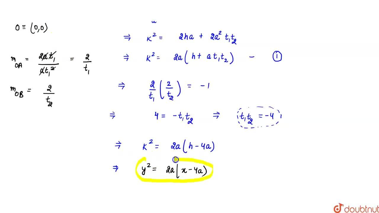 Solution for   Find the locus of the mid-points of the chords o