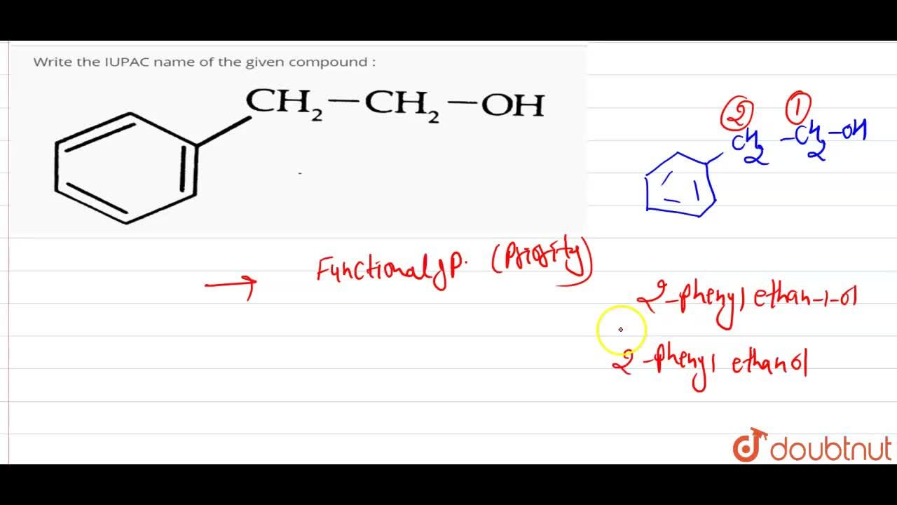 Solution for Write the IUPAC name of the given compound : <br>