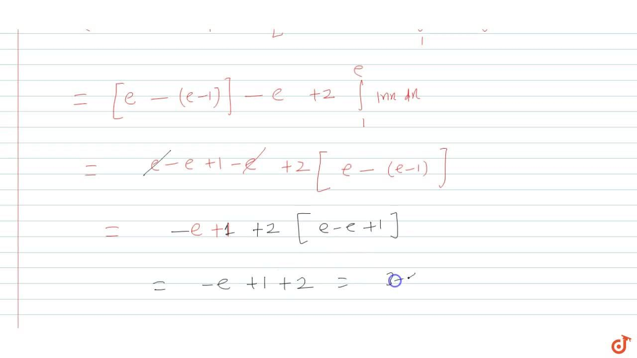 Sketch the region bounded by the curves y=log_e x and y=(log_e x)^2. Also find the area of the region.