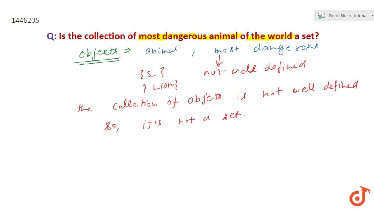 Solution for Which of the following collections are sets? Justi
