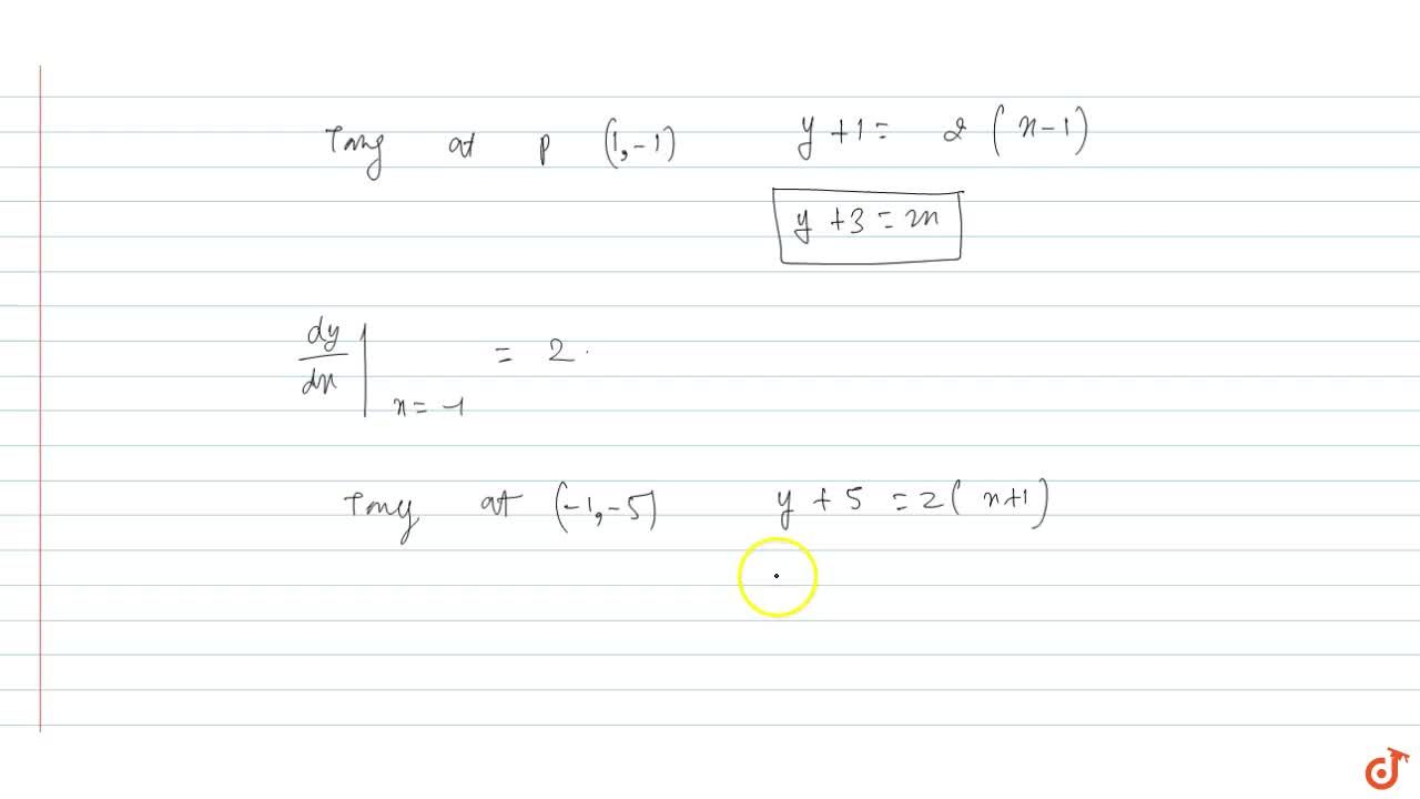 Solution for Show that the normal to the curve 5x^5 - 10x^3 +