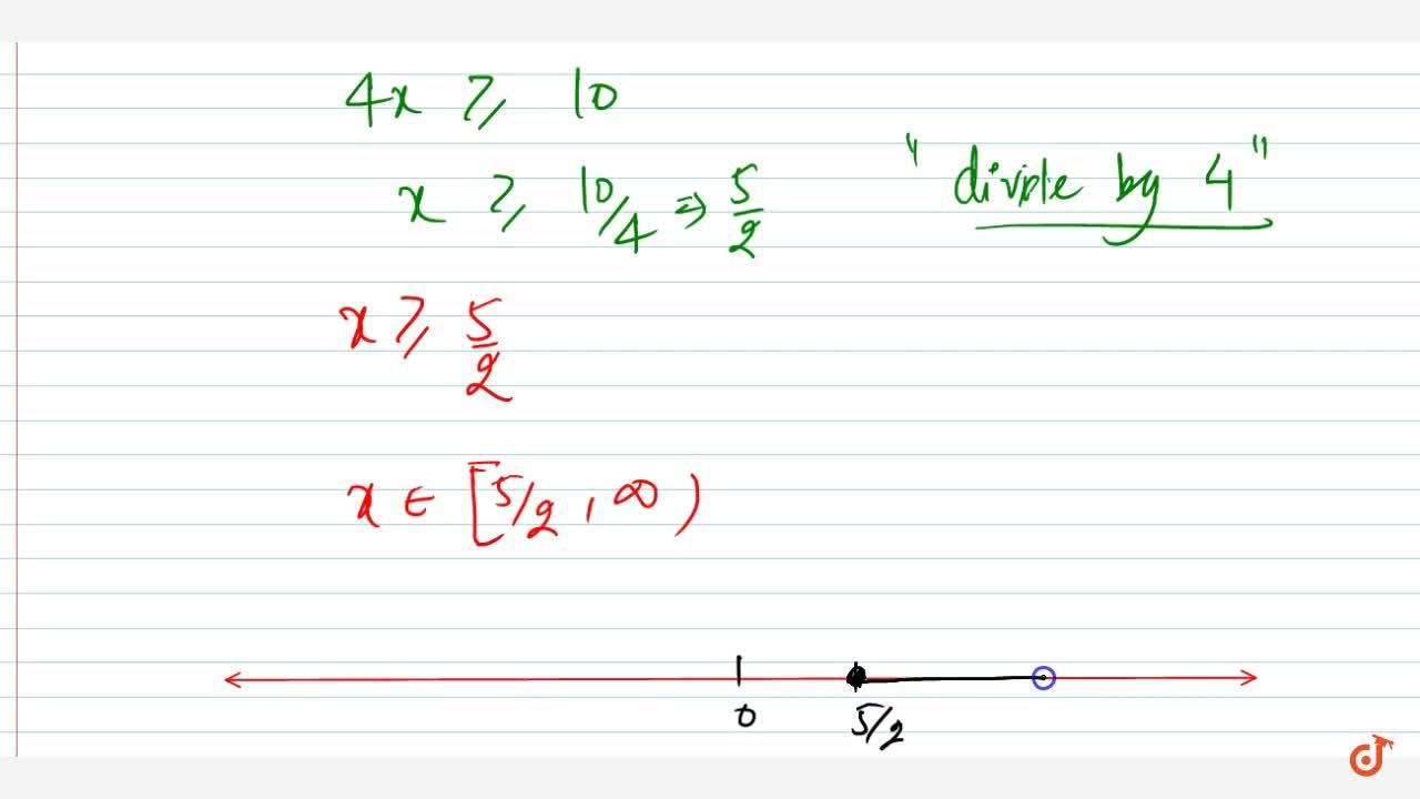 Solution for Solve the following linear inequation in R :3x+9g