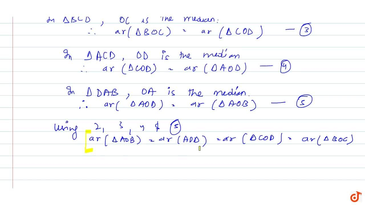 Solution for Show that   the diagonals of a parallelogram divi