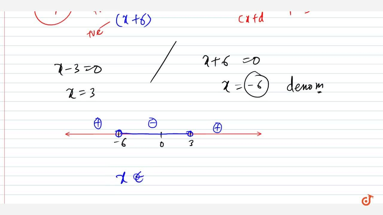 Solution for Solve the following linear inequation in R :(5x-6