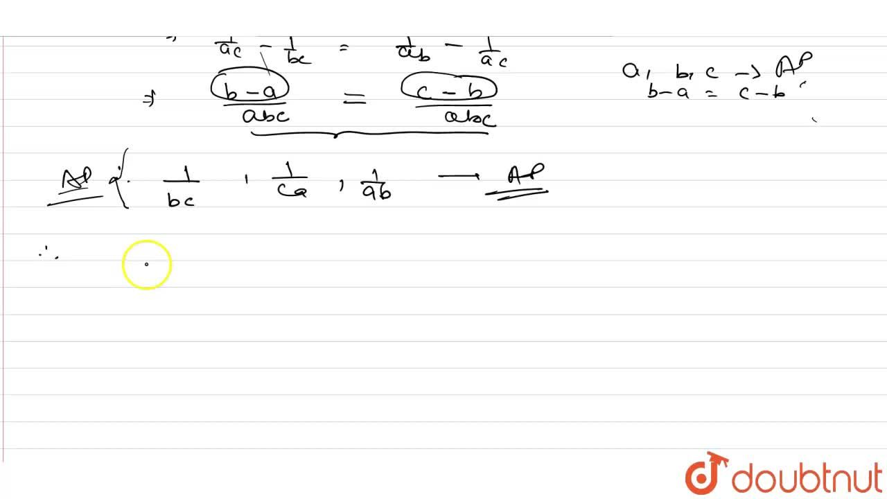 If a,b,c are in AP, show that  (a(b+c)),(bc) , (b (c+a)),(ca), (c(a+b)),(ab), are also in AP.