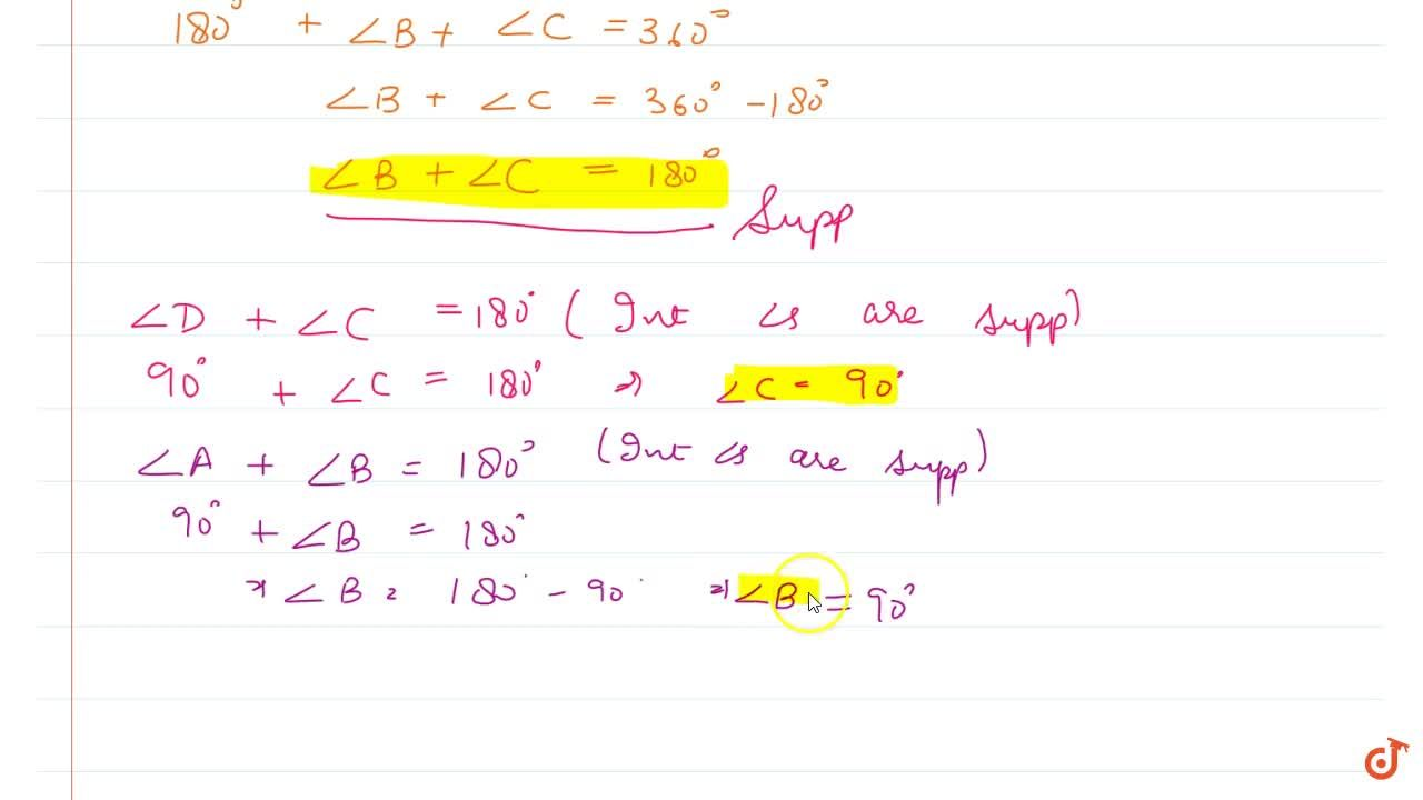 Solution for Prove that if the two   arms of an angle are perp