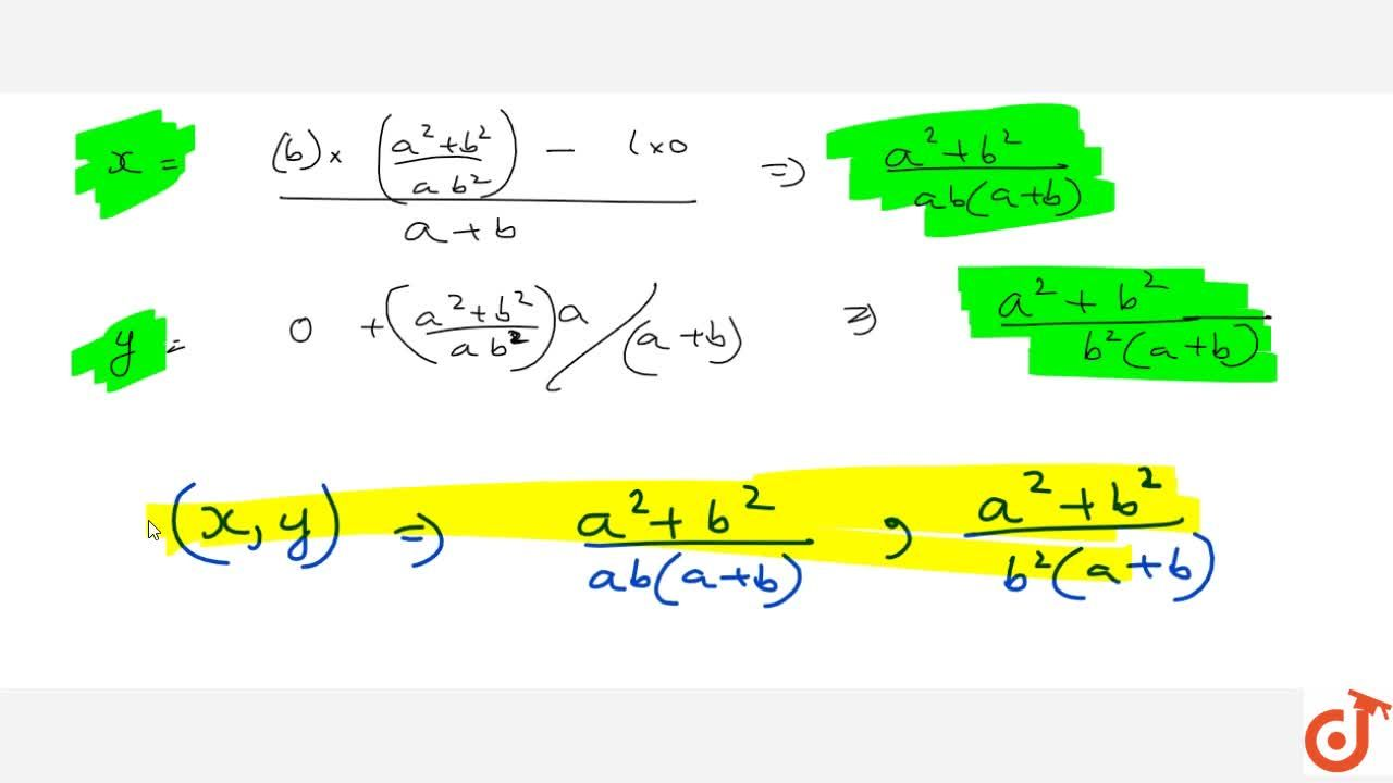 Solution for Solve the following equation by cross-multiplicati