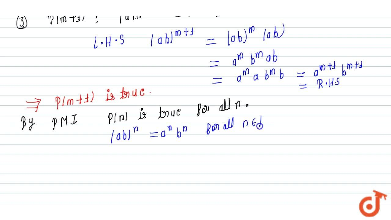 Solution for Prove the following by the principle of   mathema