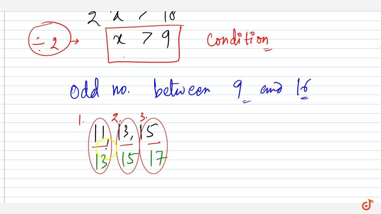 Solution for Find all pairs of consecutive odd positive integer